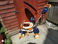 Smart Trike Three Wheel Bike for Kids Excellent Condition RRP £70