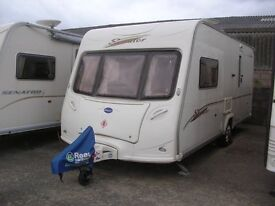 2006 Bailey Senator Vermont Series 5 with Isabella Porch Awning and Many Extras
