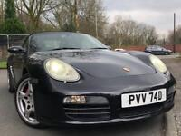 PORSCHE BOXSTER S 3.2 CONVERTIBLE CHERISHED REG*LEATHER*UPGRADE WHEELS DRIVE AWAY TODAY**