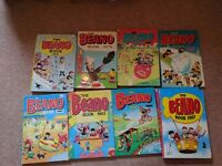 Beano Annual Collection (incomplete) from 1972 to 2008