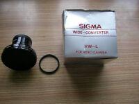 Sigma Video Camera Lens