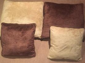 Sofa scatter cushions x14 (2 different sizes)