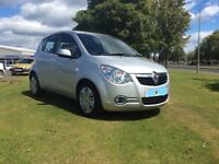 VAUXHALL AGILA, 5 DOOR, £20 ROAD TAX, IMMACULATE INSIDE & OUT, STEEL SILVER
