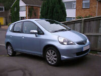 HONDA JAZZ 1.3 DSI SE 5d AUTO 82 BHP AUTO / MANUAL MODE, ALLOYS WHEELS SERVICE RECORD, LONG MOT
