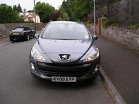 Peugeot 308 1.6 HDI Low Mileage £30 per year Tax