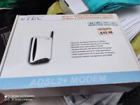 Networking router. Brand New boxed. Wireless. Collect today cheap