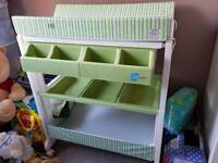 Changing table /bath and storage
