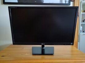 LG FLATRON E2442V-BN PC Monitor 24 inch !!!