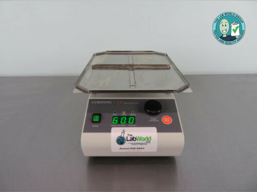 Corning LSE Digital Microplate Shaker with Warranty SEE VIDEO