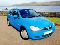 IDEAL CORSA. LOW MILEAGE. WELL KEPT. SERVICE HISTORY. DRIVES SUPERB, CHEAP INSURANCE.