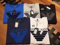 Armani,Hugo Boss,Ralph Lauren , Stone island polo/jumper sweatshirt £10