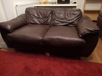 Sofas for free: a two seater and an armchair. (BS7)