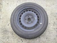 vw golf wheel and dunlop 205/60/15 91v dunlop tyre