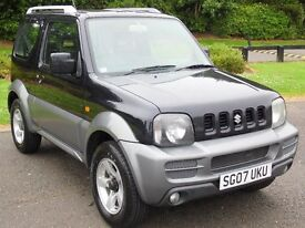 "2007 Suzuki Jimny 1.3 jlx+ One Owner, ""20300mls,"" 6 months warranty."