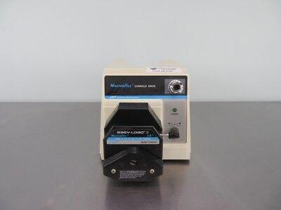 Cole-parmer Masterflex Console Drive Peristaltic Pump 77521-40 With Warranty