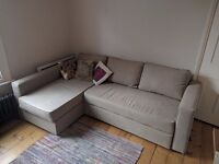 Ikea Double Sofa Bed with Storage. Excellent Condition.