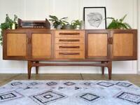 Midcentury G Plan Fresco sideboard teak vintage RETRO nationwide delivery available 🚛