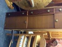 Vintage retro long john sideboard