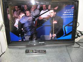 """SHARP 26"""" LCD TV"""