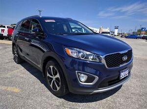 2016 Kia Sorento EX TURBO Heated LEATHER Award-Winning SUV