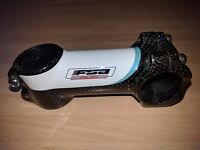 Bianchi FSA OS-190 90mm Stem (Black/White/Celeste)