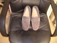 Mans Rye Loafers Size 7 UK 41EU. Mid Grey