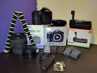 Canon 50D, Battery Grip, 50mm f/1.8, 17-70mm f/2.8-4.5, plus more!!!