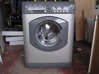 Silver Hotpoint 6kg Washing Machine