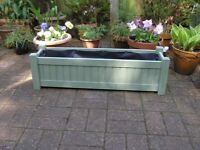 Garden Planters - Pale Green or Pale Blue