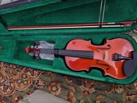 FineLegend brand 3/4 Violins almost new