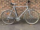 24 inch Ridgeback Adventure large Aluminium bicycle Hybrid bike Commuter Town bicycle with Mudguards