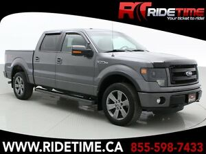 2013 Ford F-150 FX4 - SuperCrew, Leather, Sunroof, Navigation, 5