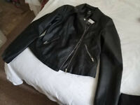 Faux leather jacket - brand new with tags