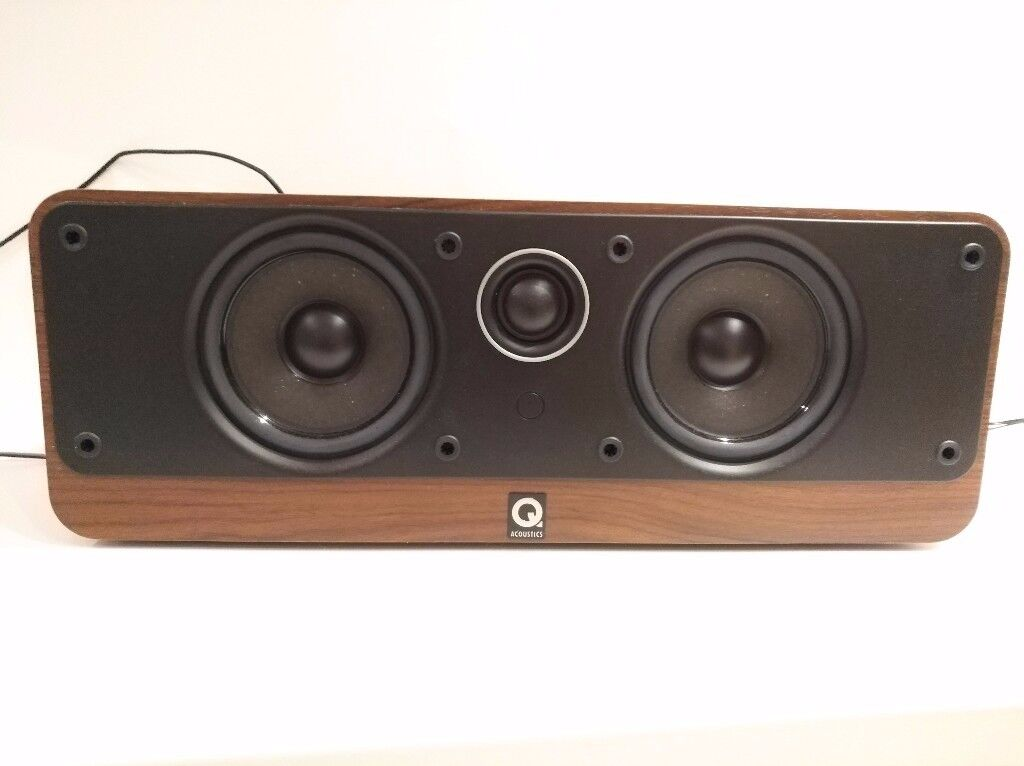 Q Acoustic Speakers 2010 and 2000c center