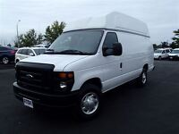 2012 Ford E-350 RAISED ROOF EXTENDED CARGO VAN