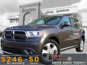 2015 Dodge Durango SXT // LEATHER//ACCIDENT FREE