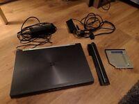 HP 8560W. Powerful gaming laptop. Quad core i7. 16GB RAM. 500GB hard drive. Nvidia Quadro 2000M