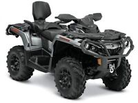 2015 Can-Am Outlander Max 650 XT $34.13/wk (120 months @ 7.99%)