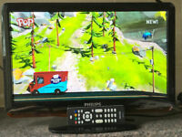 19 Inch Philips HD LCD LED Digital TV Freeview HDMI Full HD screen television