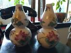 KALEBAS (DOUBLE GOURD) VAASJES ! Made in  China ! Handmade !
