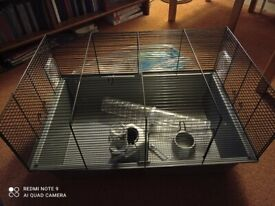 Hamster cage and small bird carrier