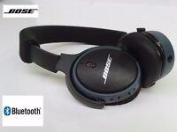 Bose Soundlink Wireless On Ear Bluetooth Headphones - Black