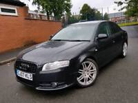 AUDI A4 S LINE BLACK EDITION TDI 2007 RS4 ALLOYS ETC A3 S3 A4 S4 RS3 AMG