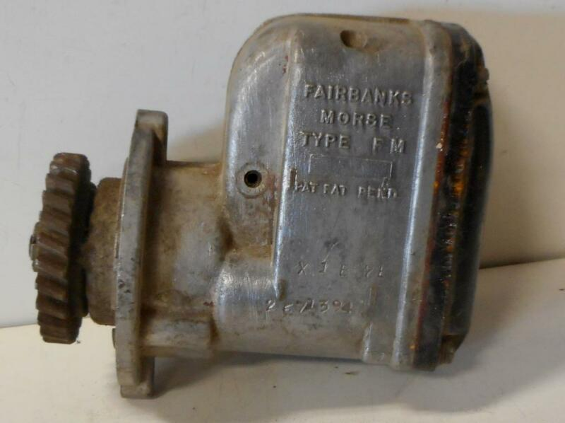 Used Fairbanks Morse Gear drive magneto FM-X-1B