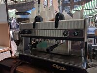 Dual Fuel Lever Coffee Machine (runs on gas / lpg or electric)