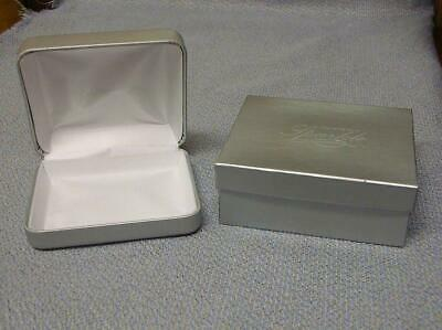 Jcpenney Silver Necklace Box Wo Necklace Cushion Gift Box