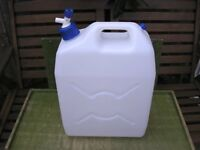 Water Container 20ltr Unused from new
