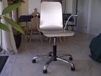 Silver Office/Computer Chair