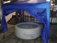 Lay-Z-Spa Vegas Airjet Hot Tub (BRAND NEW LINER) & Ground Mat+Chemicals+Filters FREE DELIVERY/SET-UP