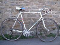 """NOW SOLD (Vintage 1974 Holdsworth Les West Road Race Sports Tourer 24 1/2"""" Frame)"""